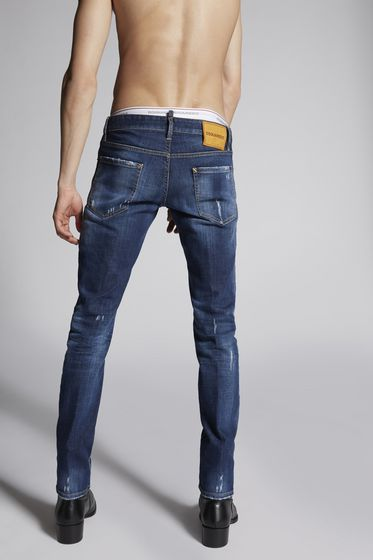 DSQUARED2 5 pockets Man S74LB0357S30309470 b