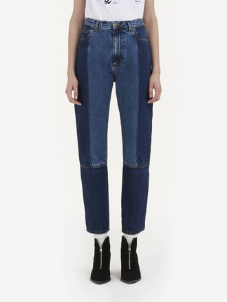 Vintage Paneled Jeans