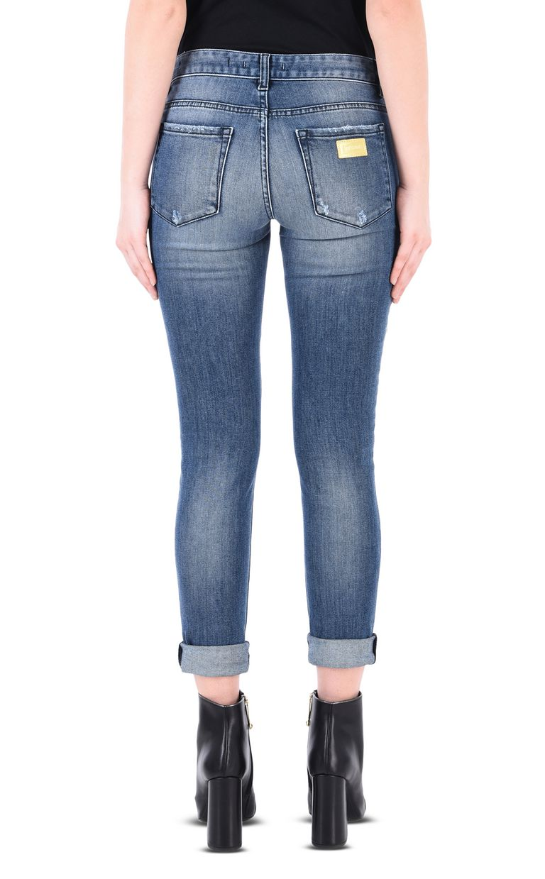 JUST CAVALLI Skinny 5-pocket ripped jeans Jeans [*** pickupInStoreShipping_info ***] d