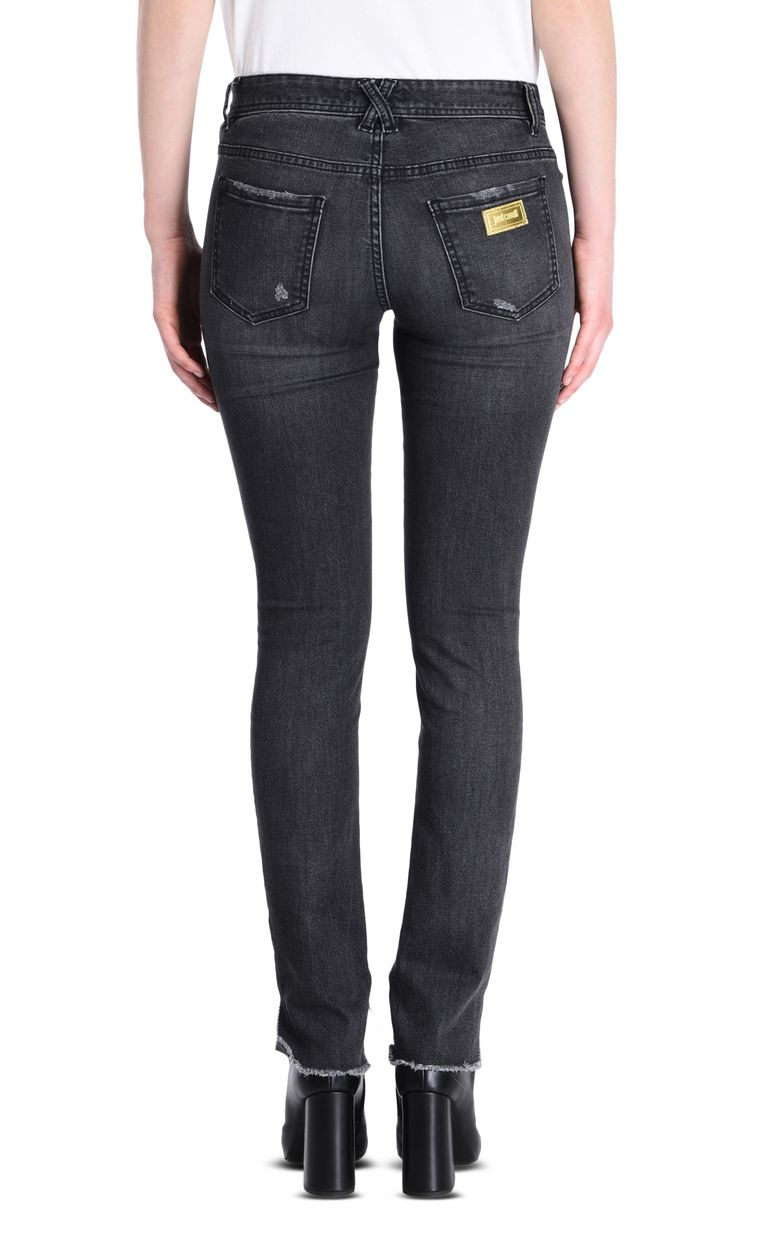 JUST CAVALLI 5-pocket jeans with irregular hem Jeans [*** pickupInStoreShipping_info ***] d