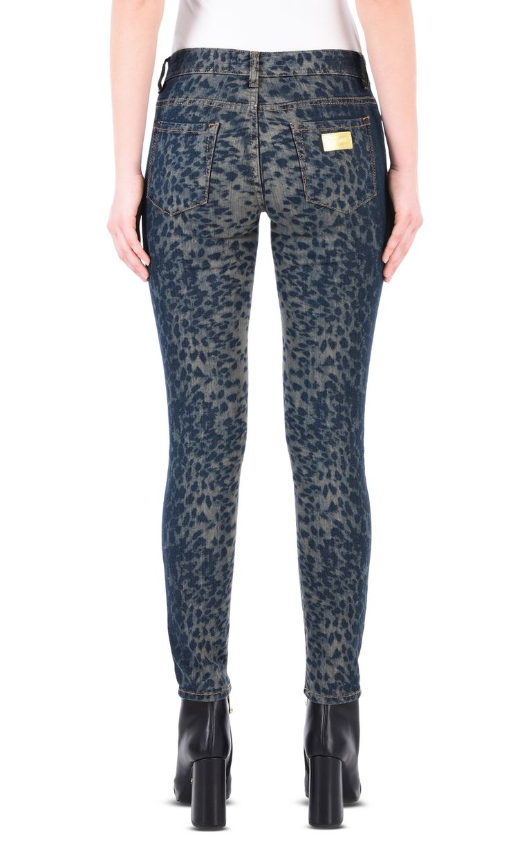 JUST CAVALLI Slim leopard-effect 5-pocket jeans Jeans [*** pickupInStoreShipping_info ***] d
