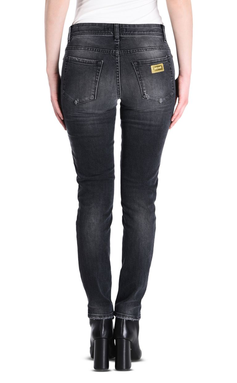 JUST CAVALLI Slim 5-pocket ripped jeans Jeans [*** pickupInStoreShipping_info ***] d