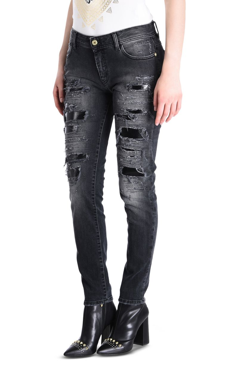 JUST CAVALLI Slim 5-pocket ripped jeans Jeans [*** pickupInStoreShipping_info ***] f