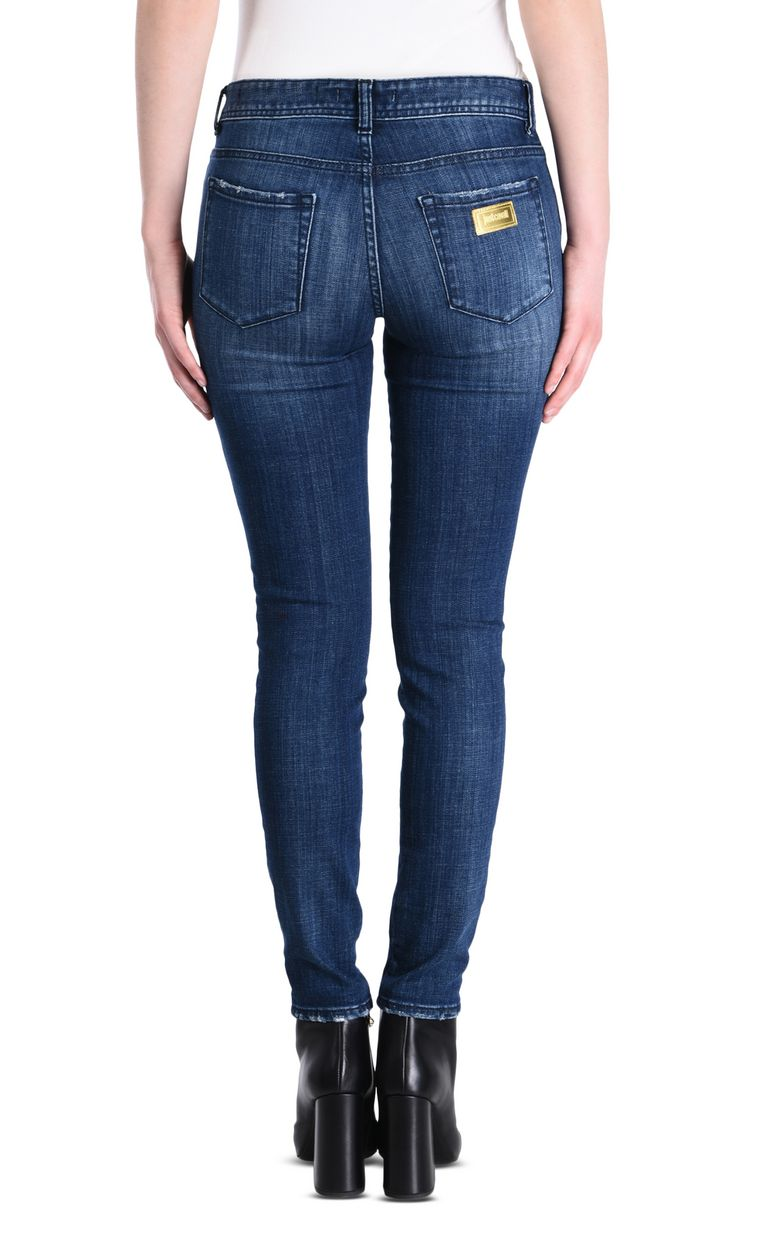 JUST CAVALLI Slim 5-pocket jeans with print Jeans [*** pickupInStoreShipping_info ***] d