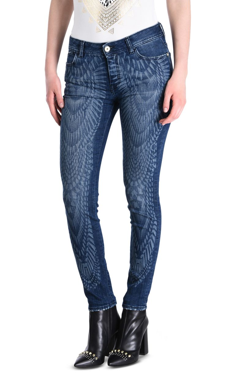 JUST CAVALLI Slim 5-pocket jeans with print Jeans [*** pickupInStoreShipping_info ***] f