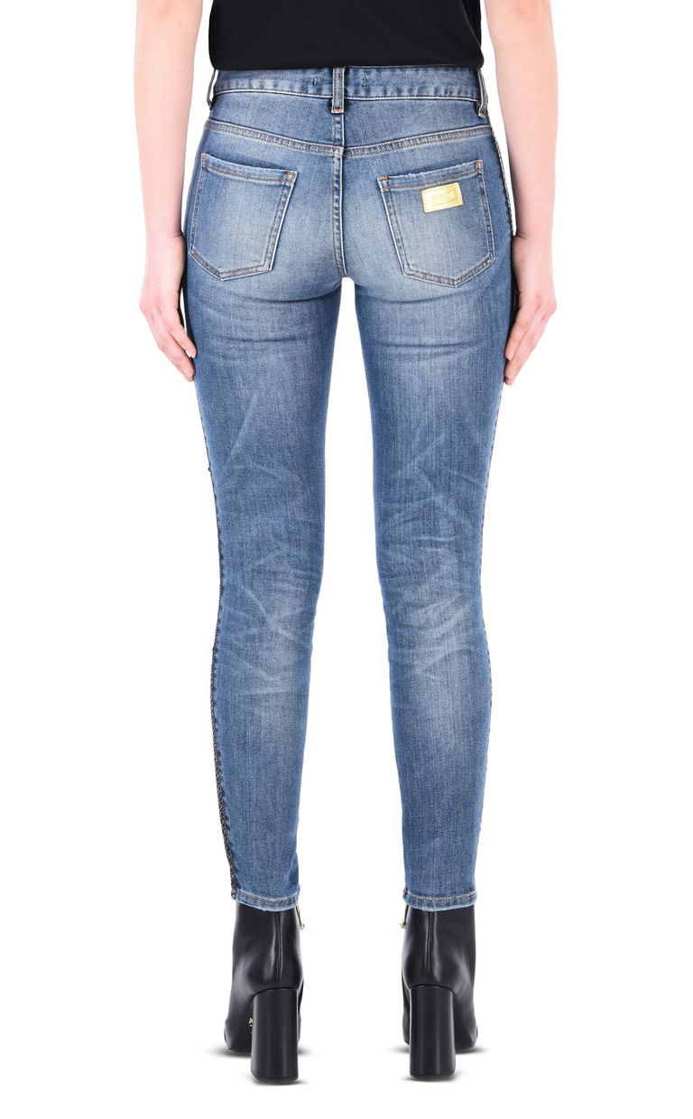 JUST CAVALLI Mid-rise 5-pocket buttoned jeans Jeans Woman d