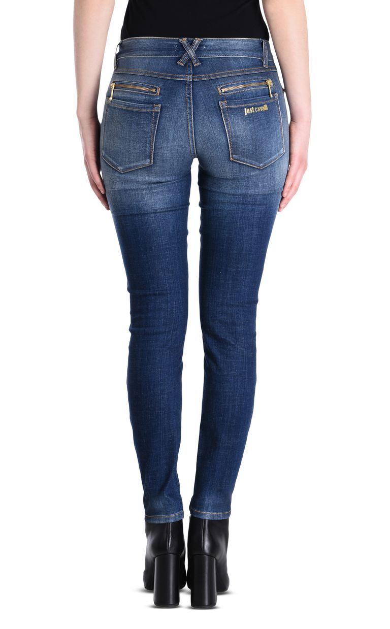 JUST CAVALLI Mid-rise 5-pocket jeans Jeans Woman d