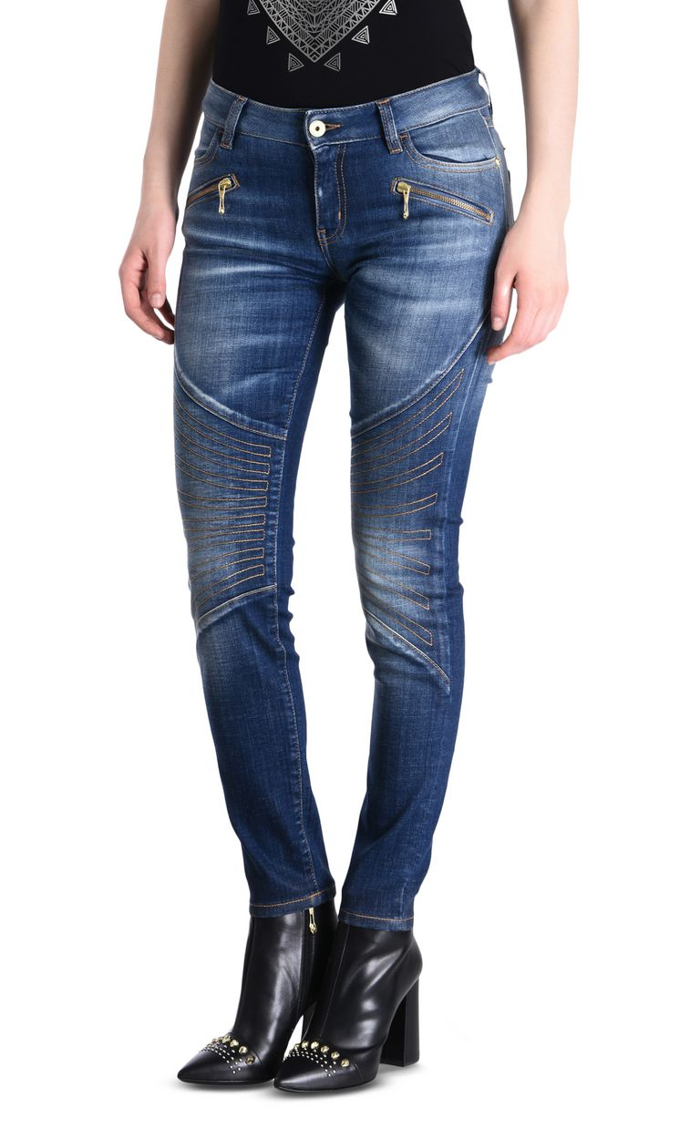 JUST CAVALLI Mid-rise 5-pocket jeans Jeans Woman f