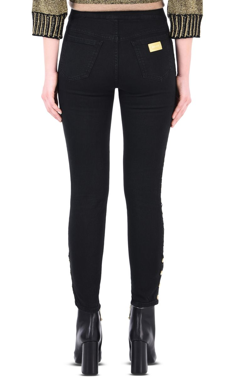 JUST CAVALLI 5-pocket jeans with stud detail Jeans [*** pickupInStoreShipping_info ***] d