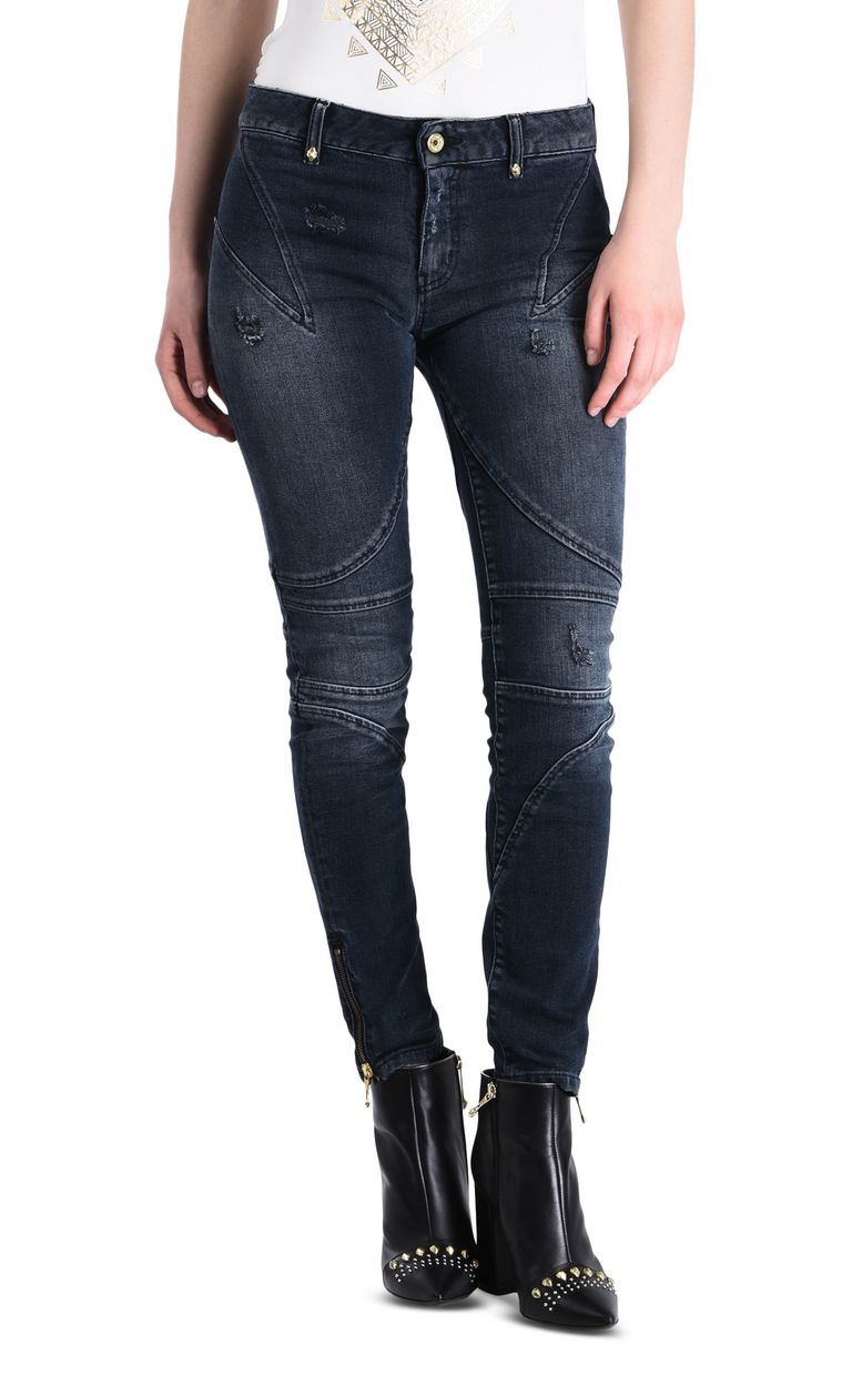 JUST CAVALLI Vintage-look 5-pocket jeans Jeans Woman f