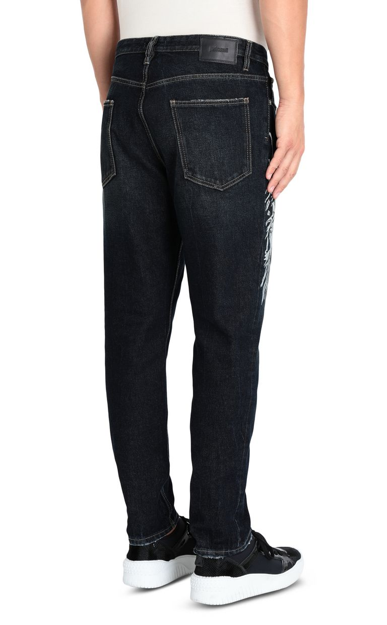 JUST CAVALLI Statue of Liberty relaxed jeans Jeans [*** pickupInStoreShippingNotGuaranteed_info ***] d