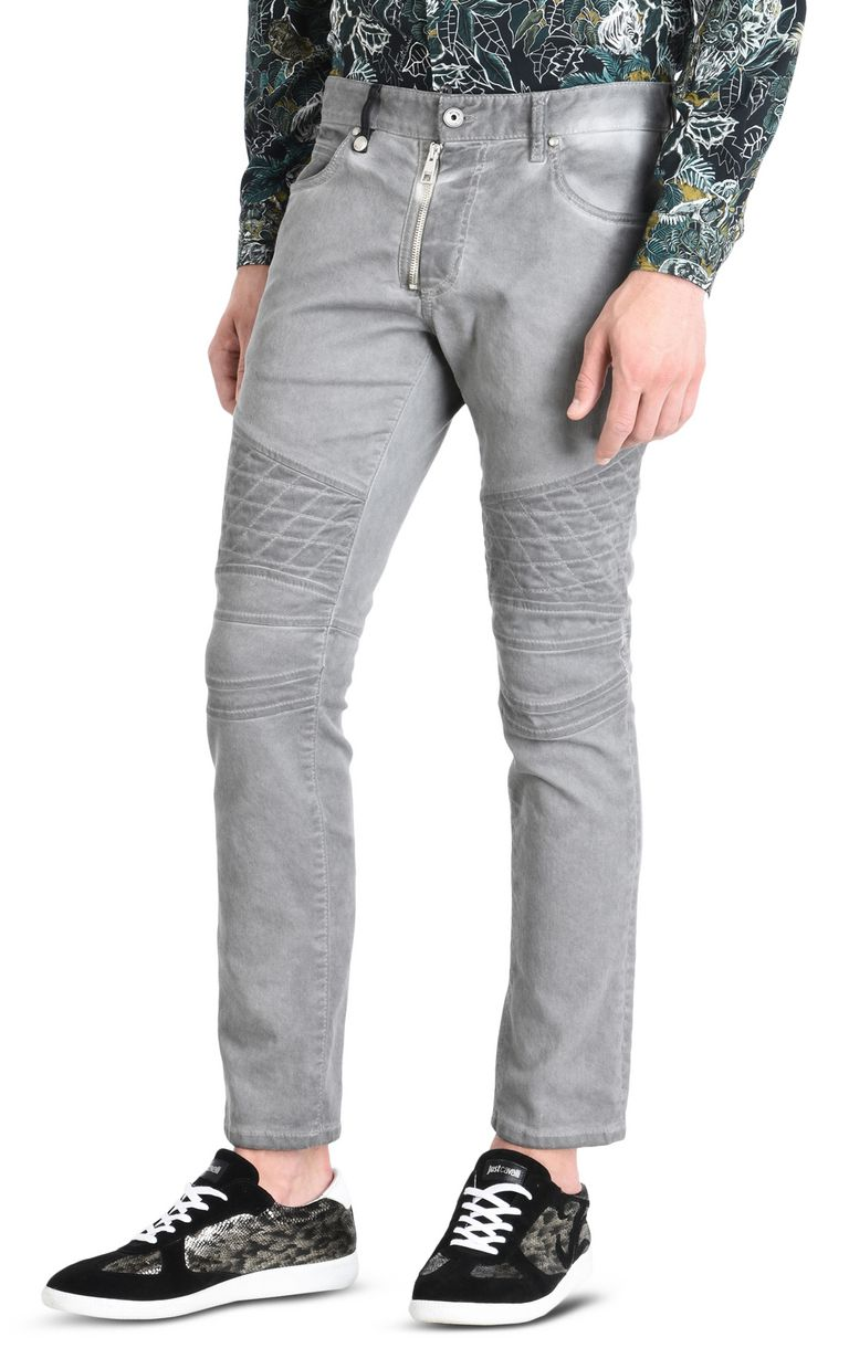 JUST CAVALLI Jeans with zip fastening Jeans [*** pickupInStoreShippingNotGuaranteed_info ***] f