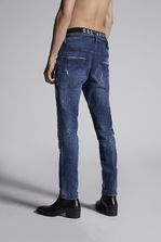 DSQUARED2 Square Patch Skater Jeans 5 pockets Man