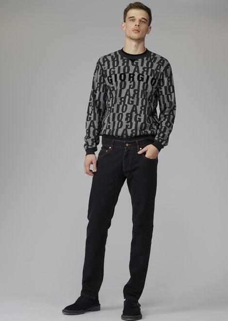 Slim fit Japanese stretch denim jeans