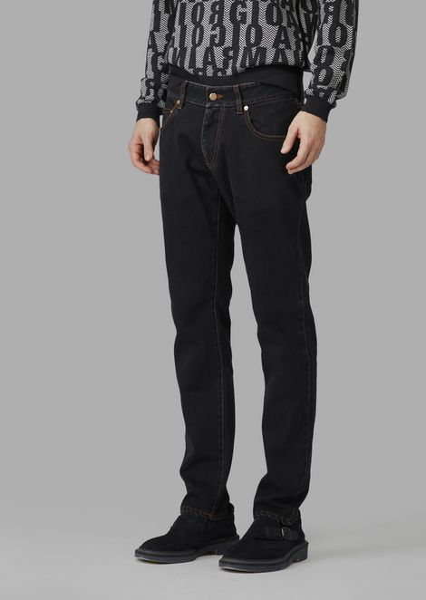 Slim fit Japanese stretch denim jeans