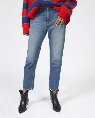 ISABEL MARANT ÉTOILE JEANS Woman CLIFF girlfriend jeans r