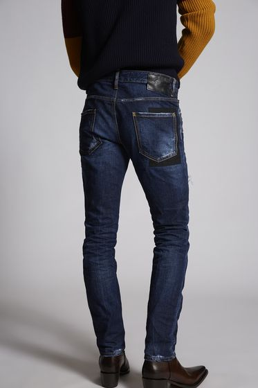 DSQUARED2 5 pockets Man S71LB0565S30309470 b