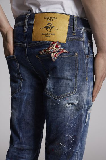 DSQUARED2 5 pockets Man S71LB0565S30309470 m