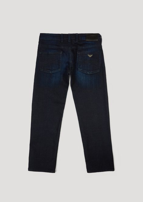 Slim fit jeans in 10oz comfort cotton twill