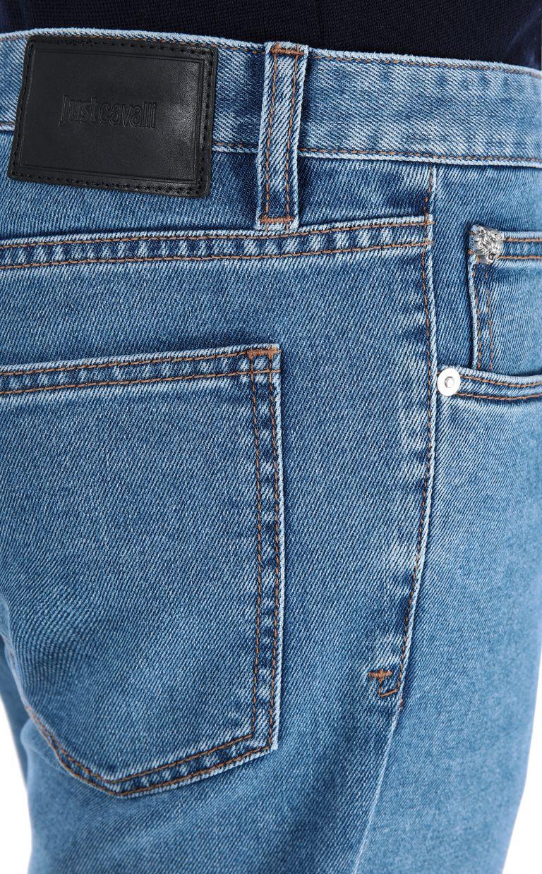 JUST CAVALLI Print-detail jeans, regular fit Jeans [*** pickupInStoreShippingNotGuaranteed_info ***] e