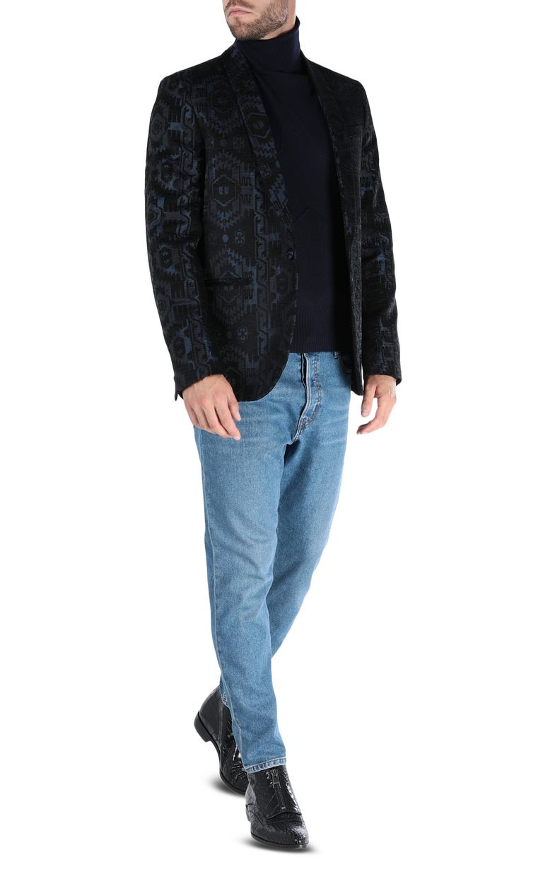 JUST CAVALLI Print-detail jeans, regular fit Jeans Man r
