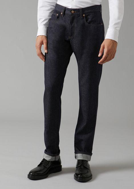 GIORGIO ARMANI Regular Jeans Man f