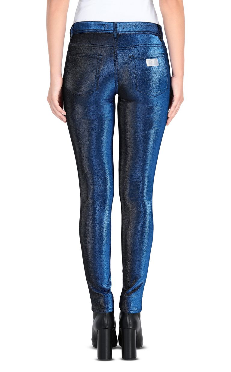 JUST CAVALLI 5-pocket laser-cut jeans Casual pants Woman d