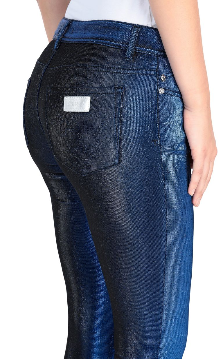 JUST CAVALLI 5-pocket laser-cut jeans Casual pants Woman e