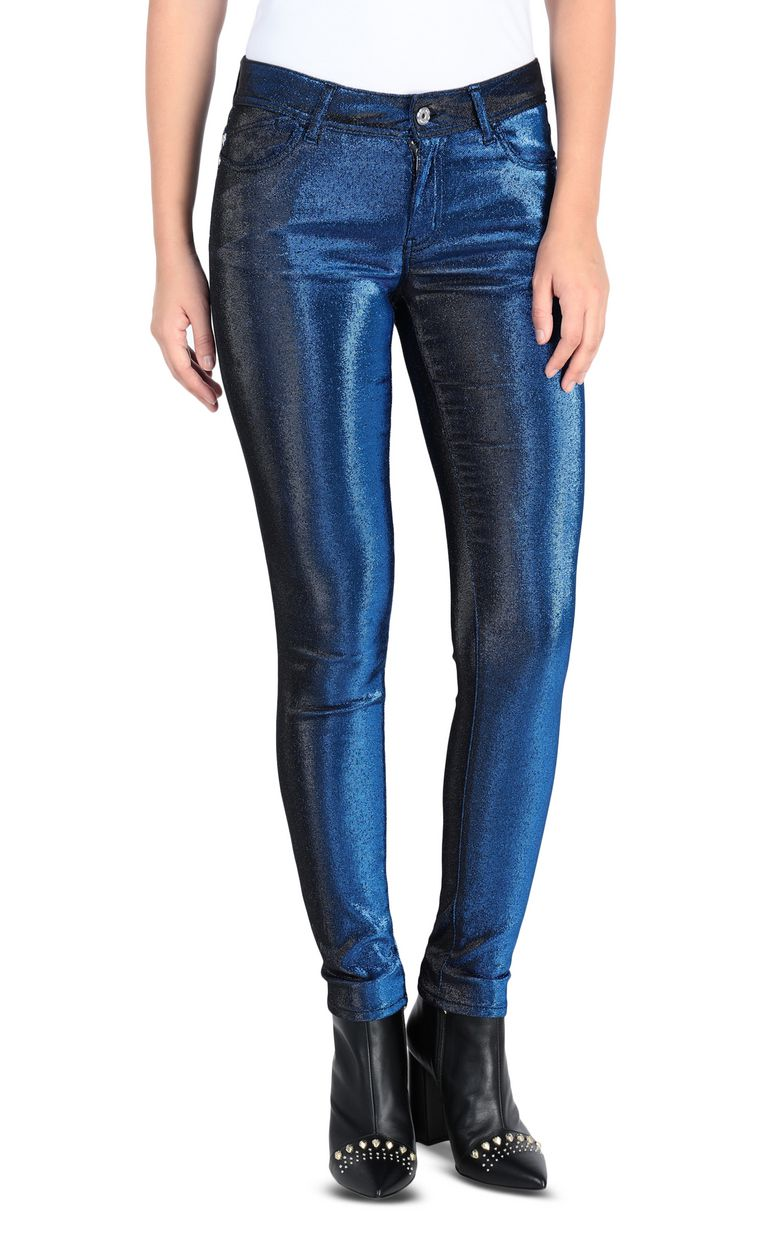 JUST CAVALLI 5-pocket laser-cut jeans Casual pants Woman f