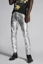 DSQUARED2 Platinum Skater Jeans 5 pockets Man
