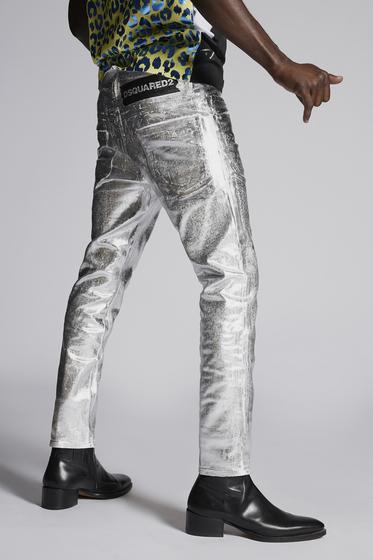 DSQUARED2 五袋裤 男士 S74LB0483S39781906 b