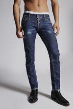 DSQUARED2 Blu Cadet Regular Clement Jeans 5 pockets Man
