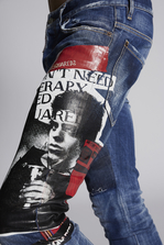 DSQUARED2 Dark Vicious Skater Jeans 5 pockets Man