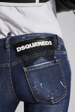 DSQUARED2 Perfection Jennifer Cropped Jeans 5 pockets Woman