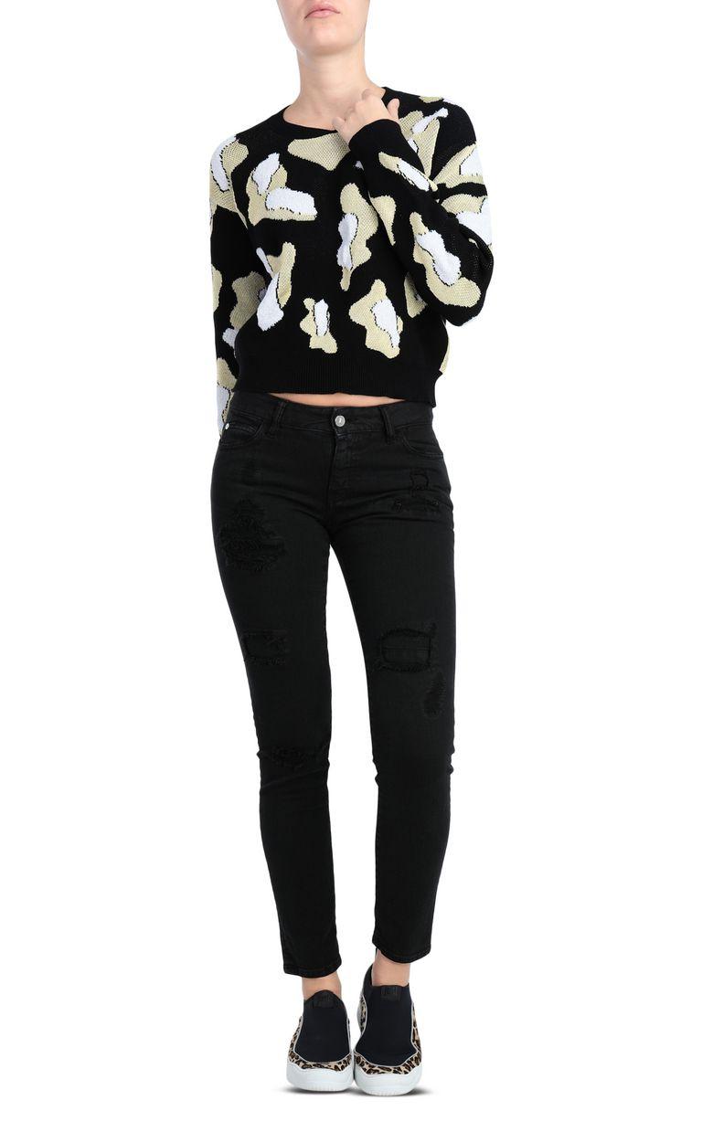 JUST CAVALLI 5-pocket slim-fit black jeans Jeans Woman d