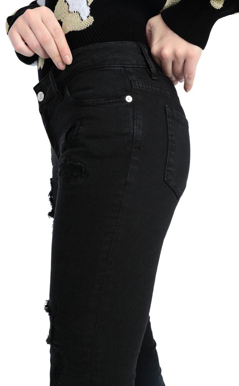 JUST CAVALLI 5-pocket slim-fit black jeans Jeans Woman e