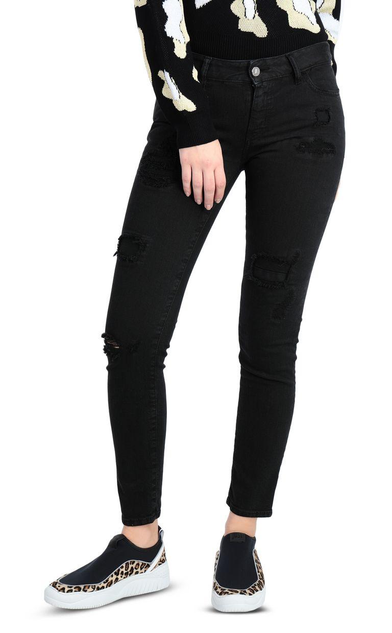 JUST CAVALLI 5-pocket slim-fit black jeans Jeans Woman f