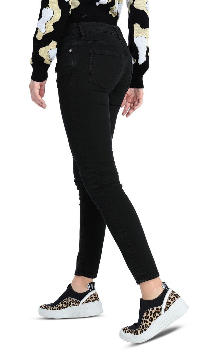 JUST CAVALLI 5-pocket slim-fit black jeans Jeans Woman r