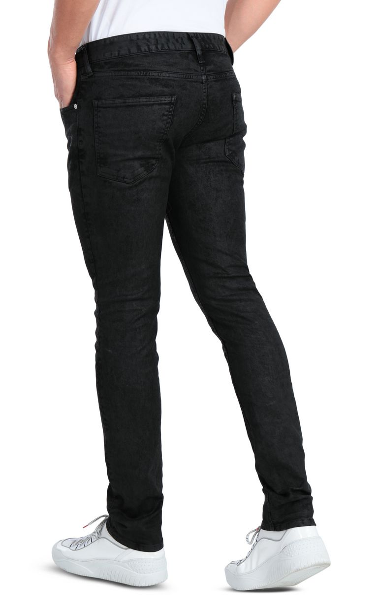 JUST CAVALLI Classic black jeans with a Just Fit Jeans Man r