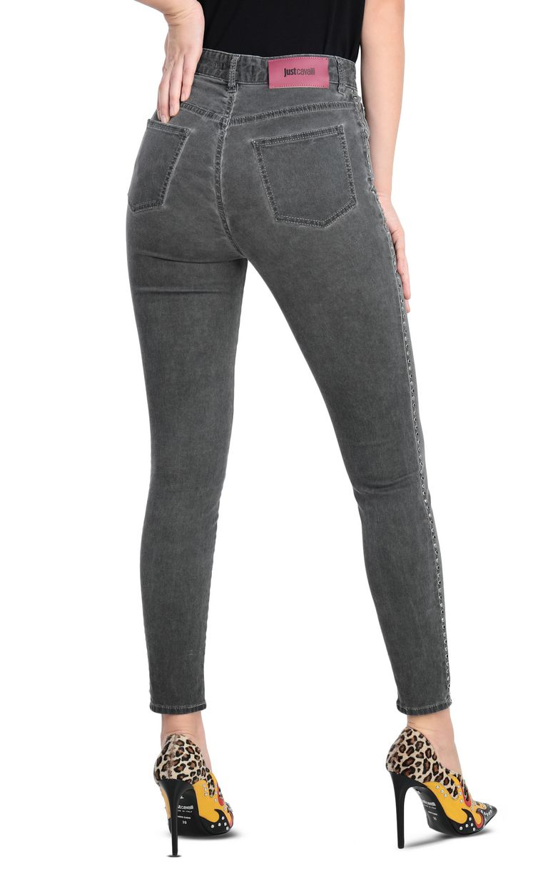 JUST CAVALLI 5-pocket high-rise jeans Jeans Woman r