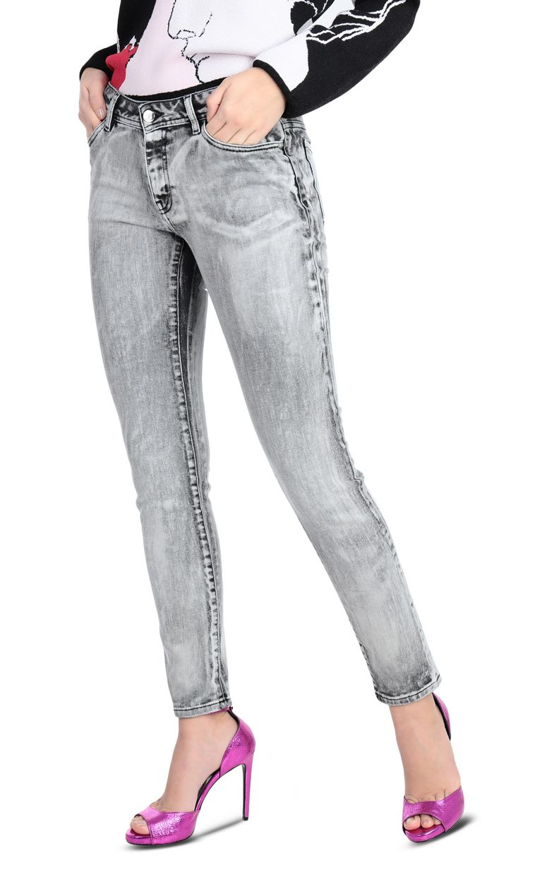 JUST CAVALLI Denim 5 tasche slim fit Jeans Donna f
