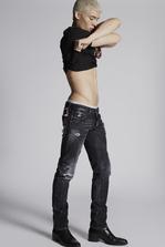 DSQUARED2 Night Stellata Slim Jeans 5 pockets Man