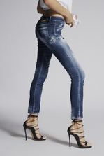 DSQUARED2 Army Fade Jennifer Jeans 5 pockets Woman