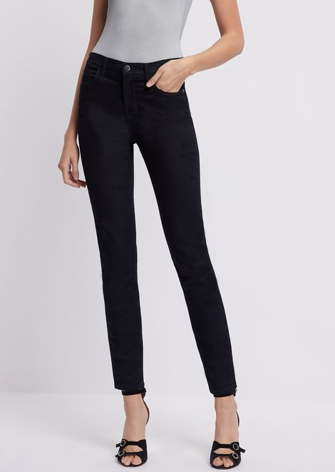 Super skinny J20 jeans in stretch denim