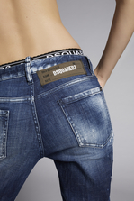 DSQUARED2 Army Fade Hockney Jeans 5 pockets Woman