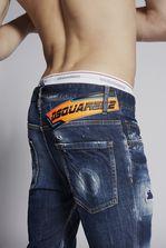 DSQUARED2 Medium Easy Skater Jeans 5 pockets Man