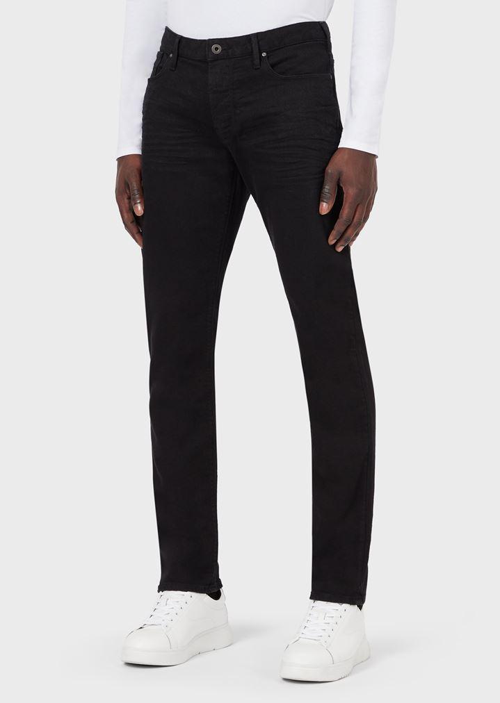 6941916274 Slim-fit J06 jeans in stretch cotton