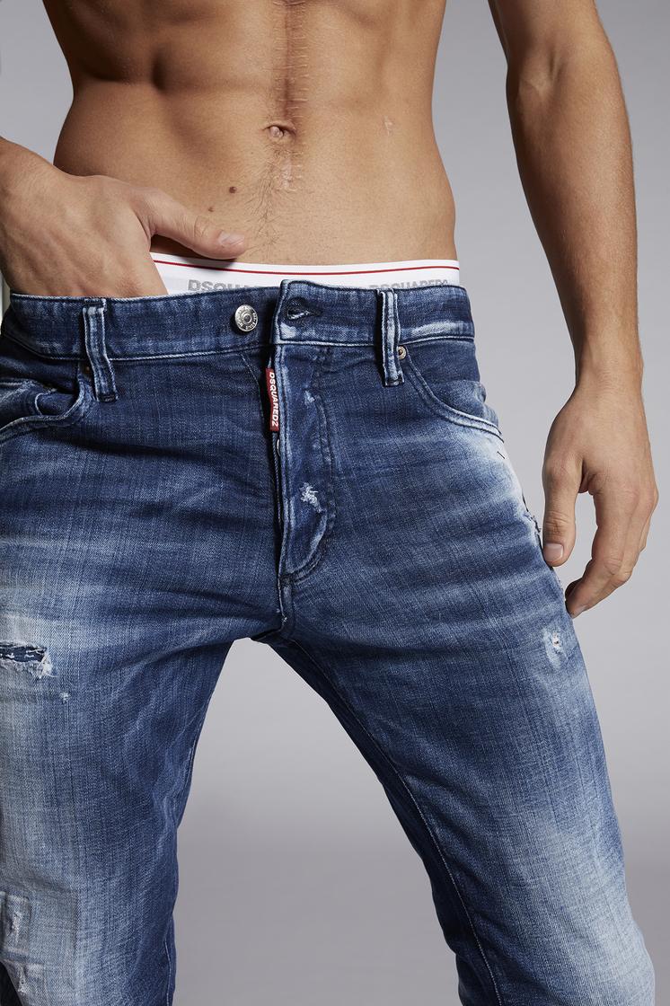 DSQUARED2 Army Fade Skinny Dan Jeans 5 pockets Man