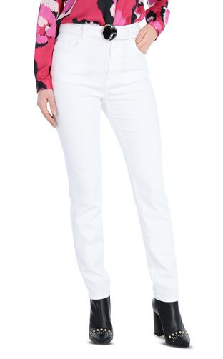 JUST CAVALLI Jeans Woman Slim-fit snake-detail jeans f