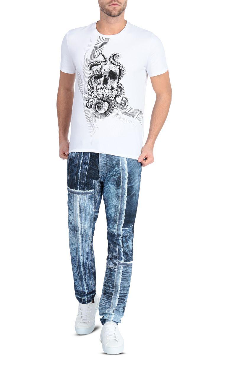JUST CAVALLI Denimflage Just fit jeans Jeans Man d